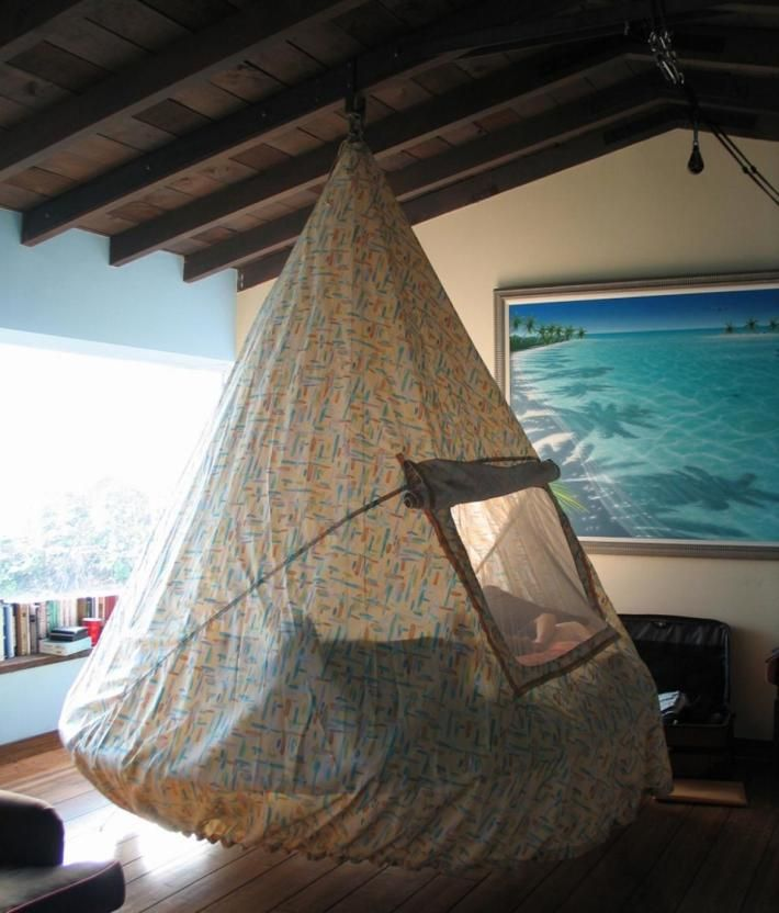 The 25 Best Indoor Hammock Bed Ideas On Pinterest