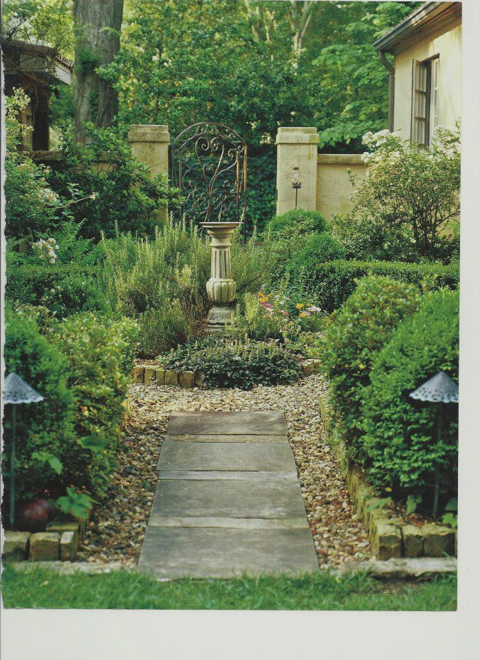 French Country Garden French Inspired Garden Ideas