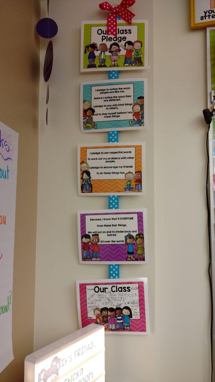 Classroom Pledge Ideas ~ Best ideas about class pledge on pinterest classroom