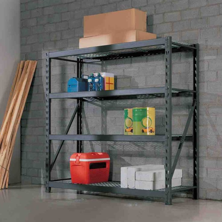 steel racks creative decoration for ideas garage storage organization spaces cabinet small rack pictures