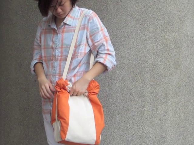 Amudo: State-changing Bag by Lilian Kong. A demo of the bag that I recently made.
