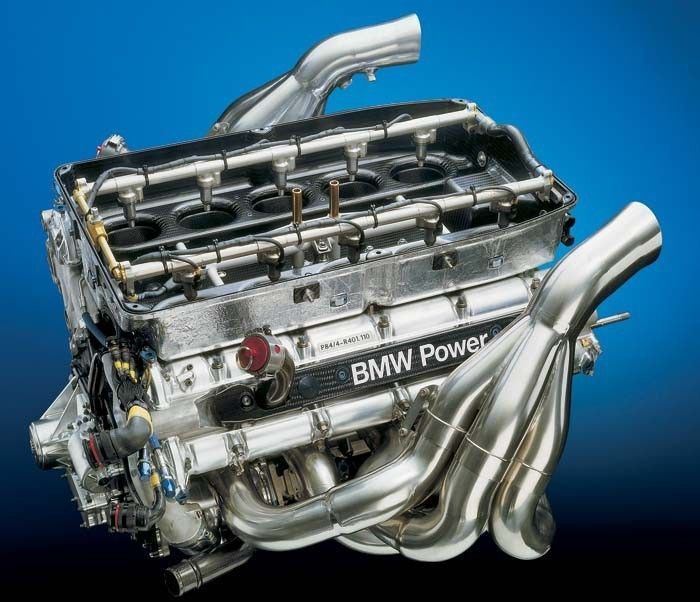 The BMW P84 is Beautifully Engineered For the 2004 Formula 1 season, BMW developed their most exceptional naturally-aspirated engine. This 90-degree, 3-liter V10 was the first F1 engine ever to exceed 19,000 rpm, and it was a model of reliability....
