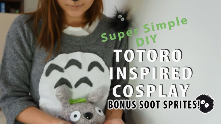 DIY Totoro Inspired Cosplay with Soot Sprites!:
