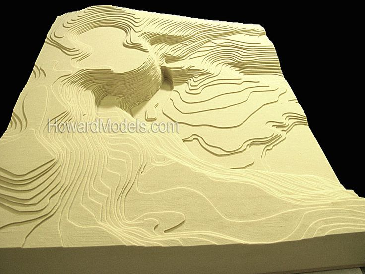how to create contour lines for a topographic map