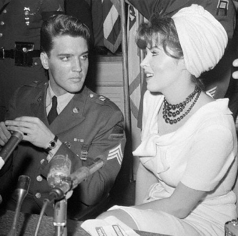 Elvis Presley & Tina Louise