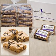 Two Dozen Bulk Chocolate Chip Blondie Bars; cookie baskets; great Easter basket fillers