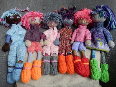 Handgemaakte Barbiekleertjes, kraamcadeautjes, lappenpoppen en andere creativiteit