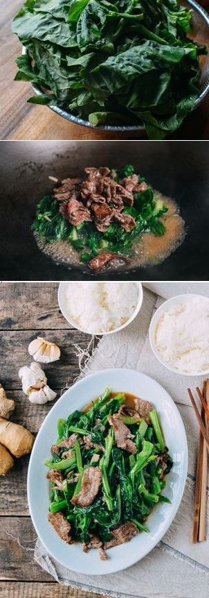Beef with Chinese Broccoli recipe, an all-time favorite!
