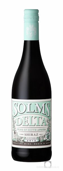 Wine Photography: Solms Delta Shiraz 2013. www.bakkesimages.co.za