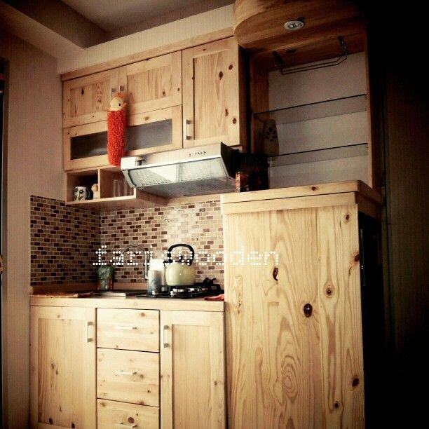 Kitchen set natural color