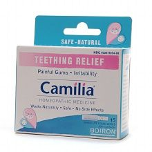 Camilla Teething Relief, Single-Use Liquid Doses- recommended by a friend- I think these worked better than teething tablets