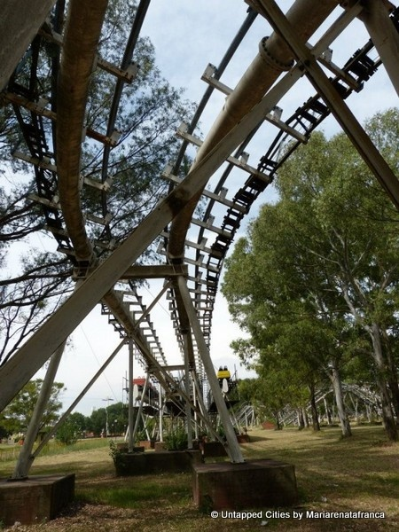 Parque de la Ciudad (Park of the City) Abandoned amusement park in Buenos Aires, Argentina.