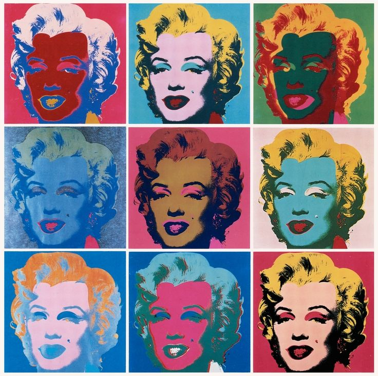 Cave to Canvas, cavetocanvas: Marilyn - Andy Warhol, 1967