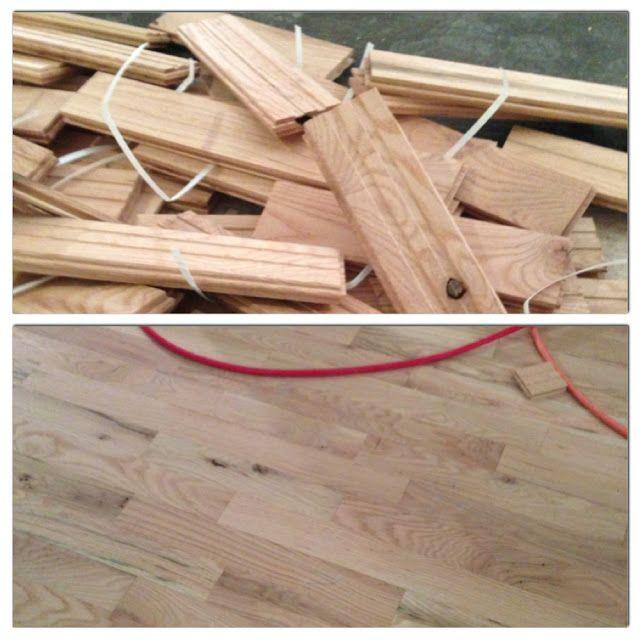 Design Dump: A (very) Basic Lesson On Installing Hardwood Floors