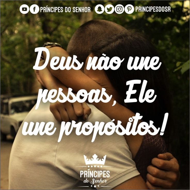 Deus une propósitos!❤️