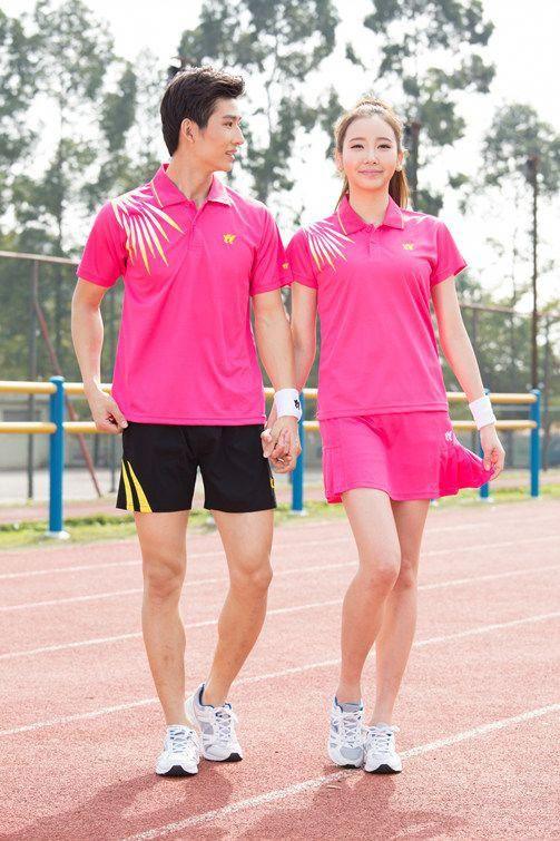 New pingpong sportswear , Table Tennis Clothes Women/Men , badminton shirts  , badminton clothes , Tennis clothes 6858 tennisoutfit