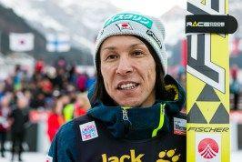 der älteste Skispringer Noriaki Kasai belegte mit 43 Jahren den dritten Platz beim FIS Skispringen Weltcup in Engelberg / Schweiz| Fotograf Kassel http://blog.ks-fotografie.net/pressefotografie/fis-skispringen-engelberg-schweiz-fotografiert/