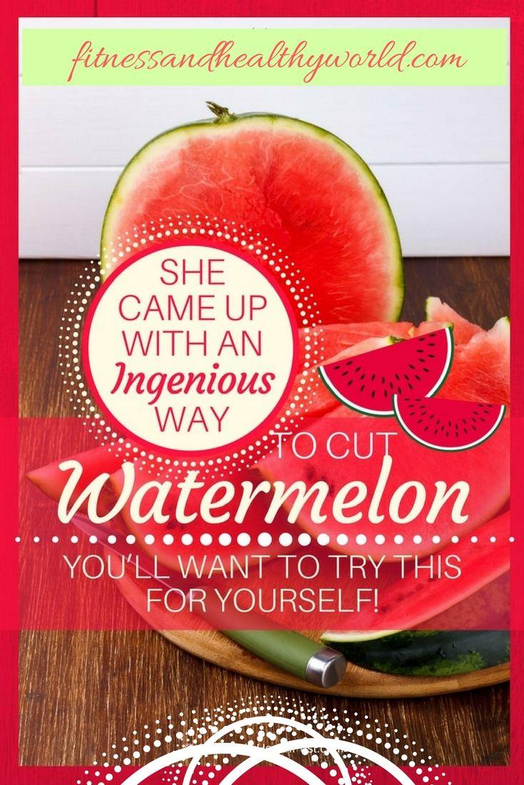 #cut #watermelon  #smart #DIY #alternatives