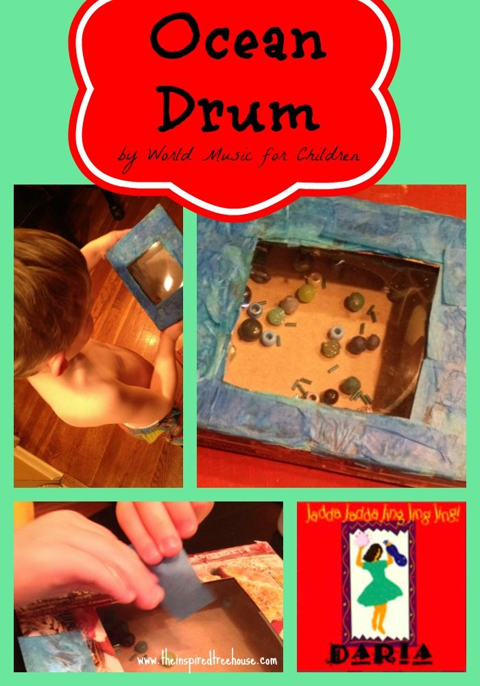 Ocean themed fine motor activity for children.  Collaboration between The Inspired Treehouse and Daria World Music.