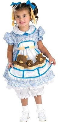 Goldilocks & The Three Bears Dress Costume for Jules