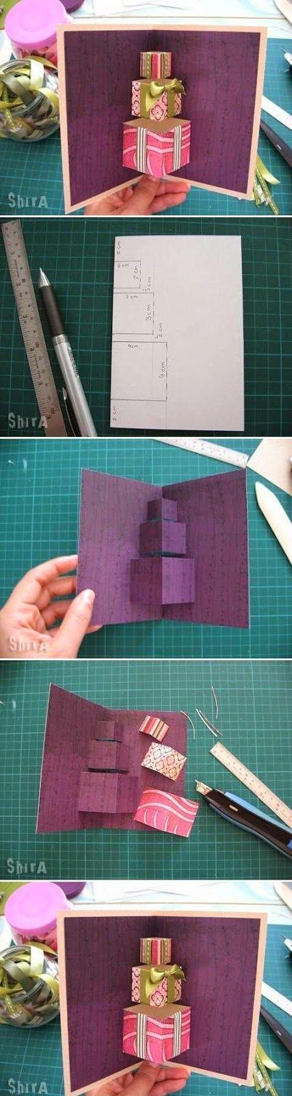 Relasé: Idee regalo: biglietto di auguri per il compleanno - progetto DIY 3D!