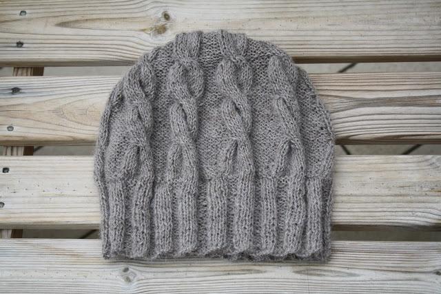 cappello con trecce di lana di alpaca 100% naturale