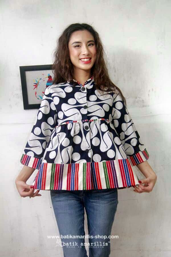 Batik Amarillis's Romancia Jacket Available at Batik Amarillis webstore http://batikamarillis-shop.com