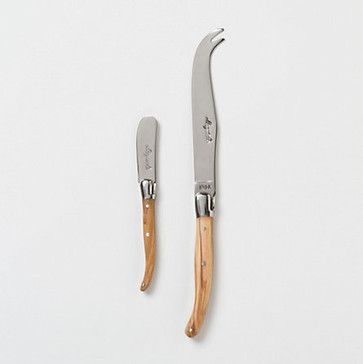 Laguiole Cheese Knife Set contemporary-cheese-knives  $88.00