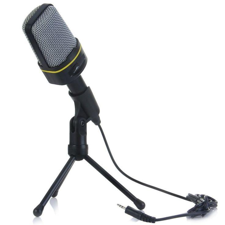 Professional Condenser Microphone Studio Sound Recording w/Shock Mount