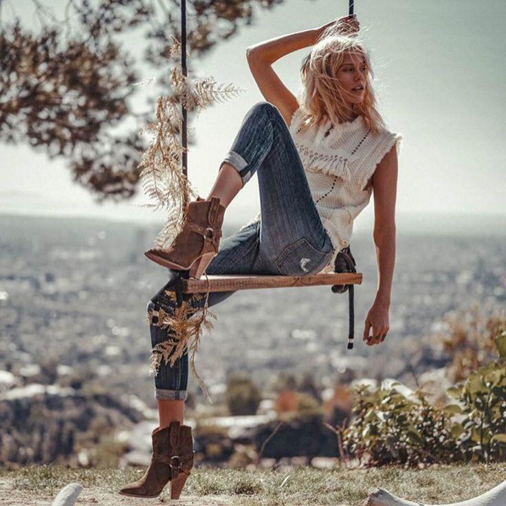 Harper Boyfriend jeans from Black Orchid Denim