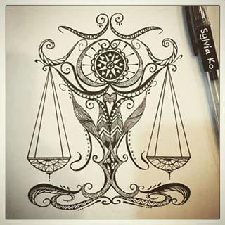 libra drawings tumblr - Google Search