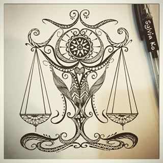 libra drawings tumblr - Google Search