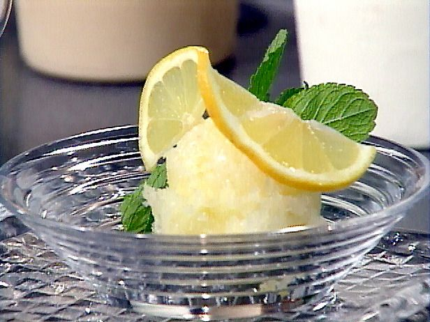 Emeril's Lemon Sorbet -- Made this today.  Its good, but VERY tart.  I think I need to up the amount of simple syrup and back off on the lemon juice and zest a bit.