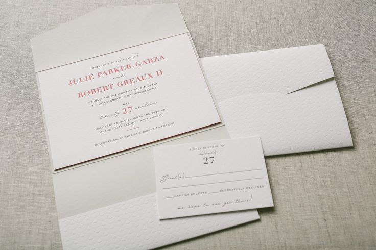 Wedding Invitations, Custom Letterpress and other Fine Stationery in La Jolla and in San Diego - Sweet Paper  - Part 2