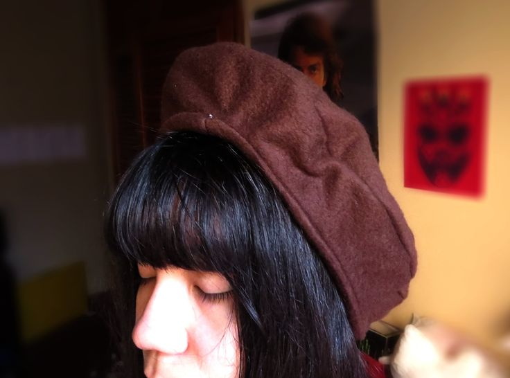 ✁ Como hacer una Boina doble   How to sew a double beret    Kaele ☁