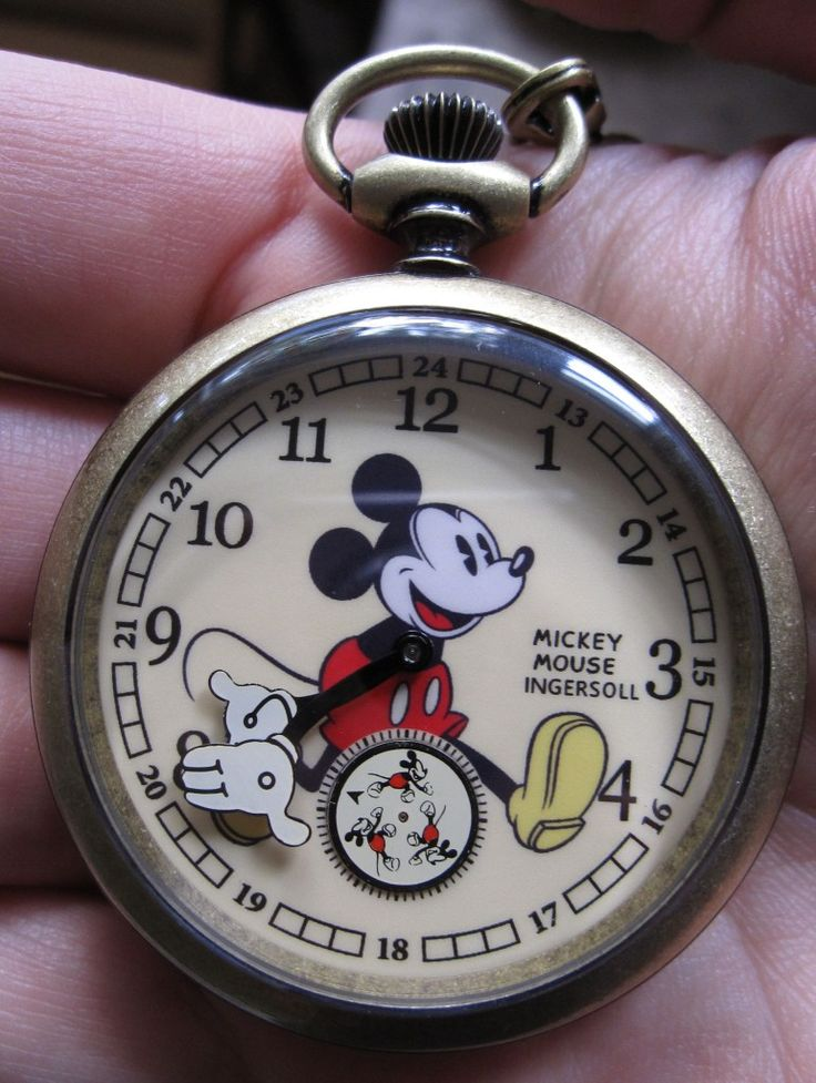 Ingersoll Mickey Mouse Pocket Watch