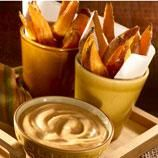#HappyBirthdayHellmanns Sweet Potato Fries With BBQ Mayonnaise