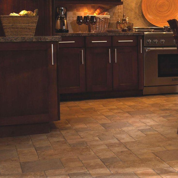 kitchen flooring home depot innovations tuscan sand 8 mm thick x 15 1 2 in wide 4857
