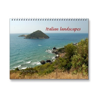 Italian Lanscapes Wall Calendars $20.95