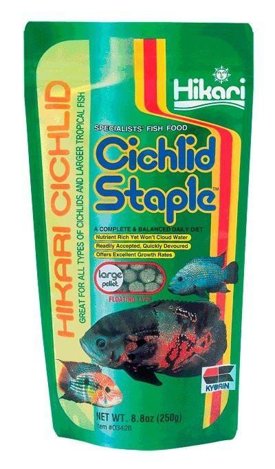 Hikari Fish Food Cichlid Staple Large Pellets 2 oz