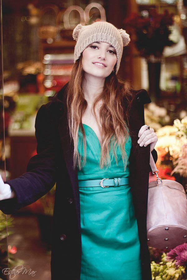 Cylindrical Bag+Ani Lee Dress