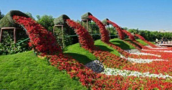 Θα τα Χάσετε από την Ομορφιά του!! ΑΥΤΟΣ είναι ο κήπος των θαυμάτων στο Ντουμπάι!