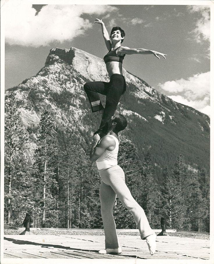 Eva à Banff