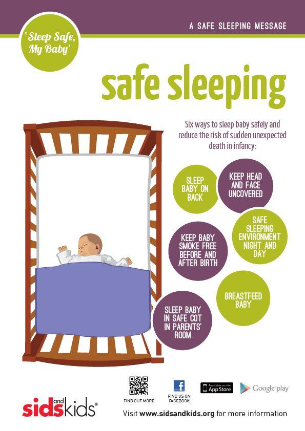 safe sleeping poster ways to sleep toddler menu sleep. Black Bedroom Furniture Sets. Home Design Ideas