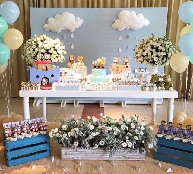 Festa Arca de Noé decoração