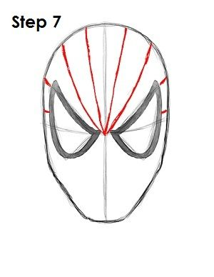 How to Draw Spider-Man- good for all the boys who ask me to do this daily!