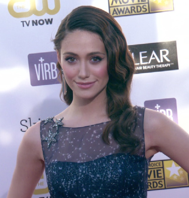 Emmy Rossum at the 2013 Critic's Choice Awards   Emmy ... Emmyschoice