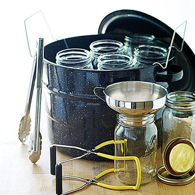 Some things you'll need for canning your own veggies, fruits, and meats!