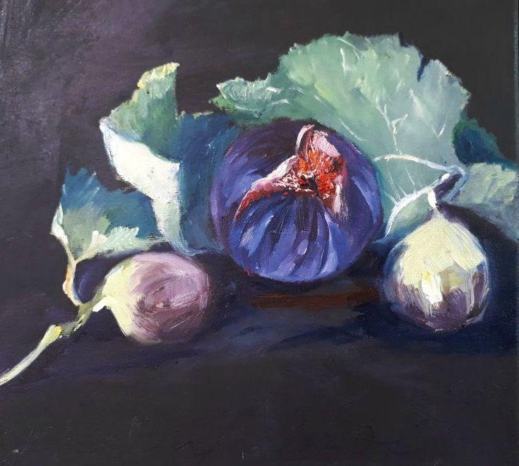 Figs by MathildaCoetzerArt on Etsy