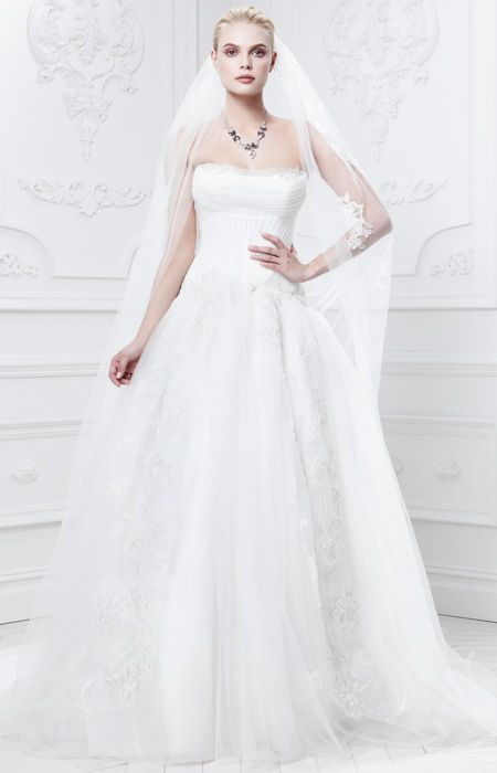Truly Zac Posen - Truly Zac Posen Fall 2014 Bridal Collection - InStyle.com